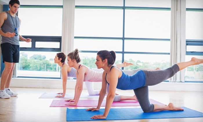 Pilates 4 Poise - North Raleigh: Five Classes or One Month of Unlimited Sessions at Pilates 4 Poise (Up to 52% Off)