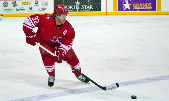 Allen Americans - Allen Event Center: Allen Americans Playoff Hockey Game at Allen Event Center (Up to 34% Off). Two Games and Seating Options Available.