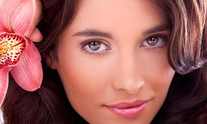 Muah Spa: One or Three Microcurrent Face-lifting Sessions with LED Light Therapy at Muah Spa (Up to 57% Off)
