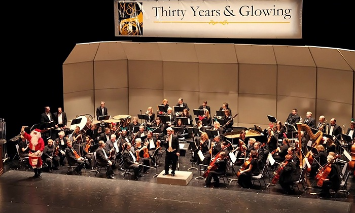 """Macomb Symphony Orchestra's """"Holidays at the Movies"""" - Macomb Center for the Performing Arts: Macomb Symphony Orchestra's """"Holidays at the Movies""""on December 13 at 3 p.m."""