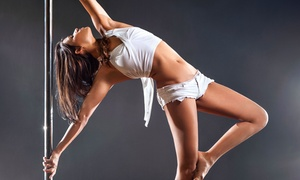 Studio 3sixT: Two or Four Pole-Dance Fitness Classes or One Month of Unlimited Classes at Studio 3sixT (Up to 60% Off)