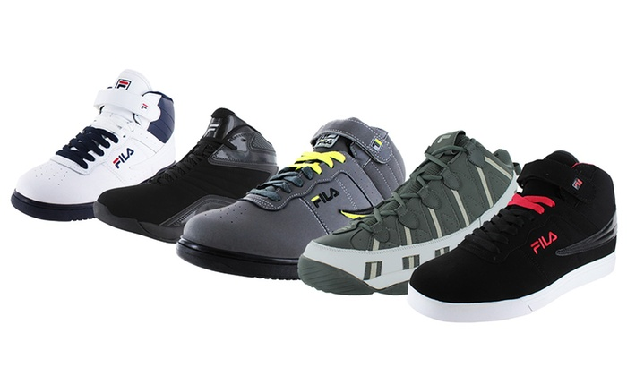 Fila Men's High Top Sneakers   Groupon Goods