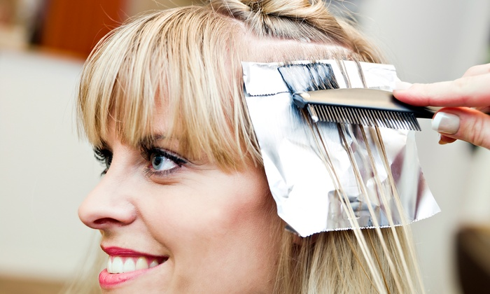 Lisa Koh at Monique's Salon & Spa - Tarzana: Haircut with Option for Partial or Full Highlights with Lisa Koh at Monique's Salon & Spa (Up to 65% Off)