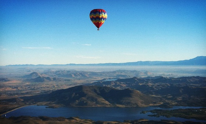 D & D Ballooning - Murrieta: Hot Air Balloon Ride for One, Two, or Four from D & D Ballooning (51% Off)