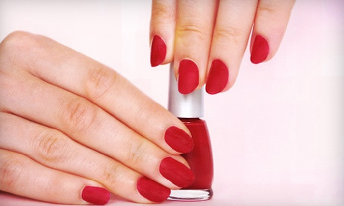 Nail Time & Co. - Leawood: Soak-Off Gel Polish Manicure or a Full Set of Acrylic Nails at Nail Time & Co. (Half Off)