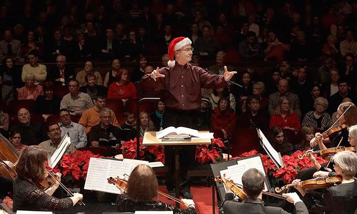 Ann Arbor Symphony Orchestra Presents: Holiday Pops! - Hill Auditorium: Ann Arbor Symphony Orchestra Presents: Holiday Pops! on Friday, December 11, at 8 p.m.