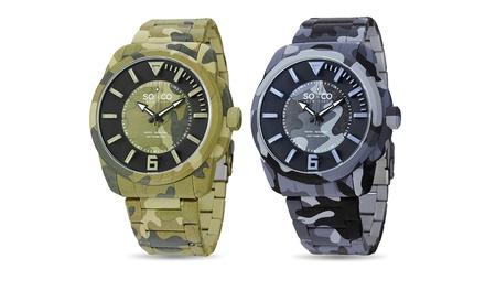 SO & CO New York Men's Multifunction Watch