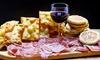 Menu tigella illimitata con vino