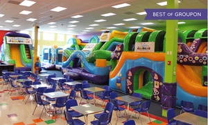 Jumpin Jamboree: Admission Passes for Two or Four or a Party for Eight Children at Jumpin' Jamboree (Up to 36% Off)