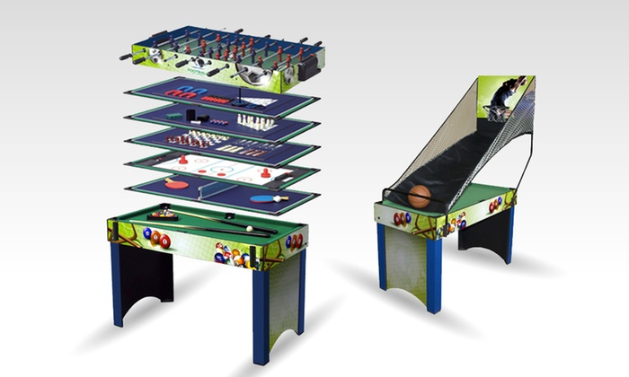 13 in 1 games table groupon goods for 13 in 1 game table