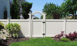 National Metal Industries: $1,920 for 80 Feet of Vinyl Fencing from National Metal Industries ($4,000 Value)