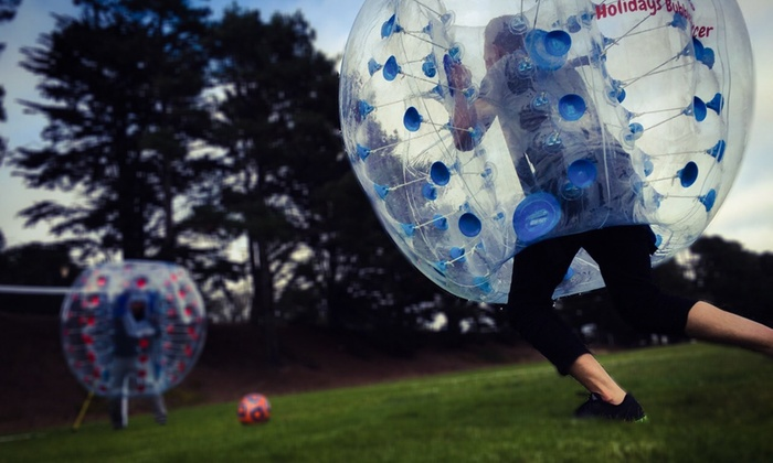 Holiday Bubble Soccer - San Francisco: $540 for $600 Worth of Bubble Soccer — Holiday Bubble Soccer