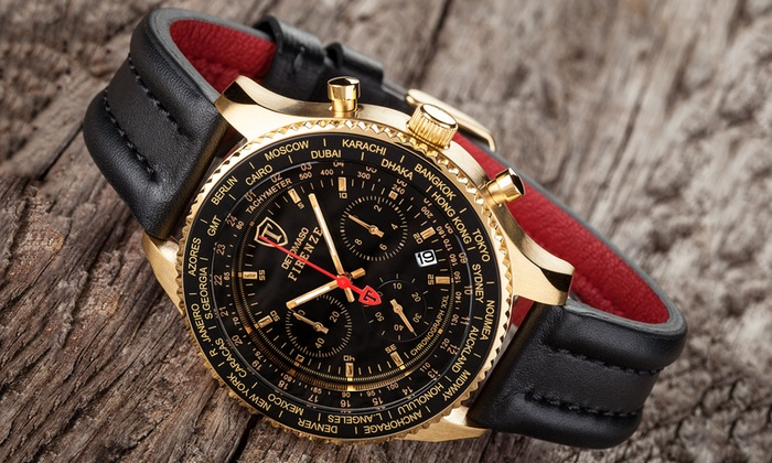 Detomaso Firenze Chronograph Mens Watch 3