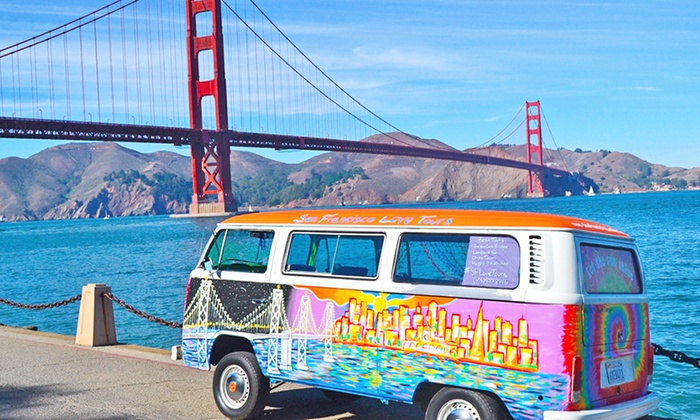 San Francisco Love Tours - Fisherman's Wharf: Sightseeing Bus Tour for One or Two from San Francisco Love Tours (Up to 50% Off)