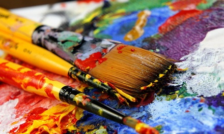 Up to 51% Off BYOB Paint Party at Chardonnay N' Canvas