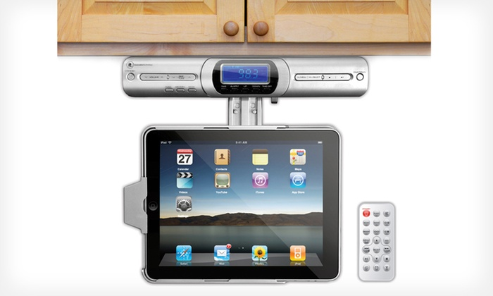 iPad Under-Cabinet Dock: $49 for an iPad Under-Cabinet Dock ($129.99 List Price). Free Shipping and Free Returns.