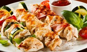 Restaurant Pamfilya: 3-Gänge-Menü mit Grillteller für Zwei oder Vier im Restaurant Pamfilya (bis zu 54% sparen*)