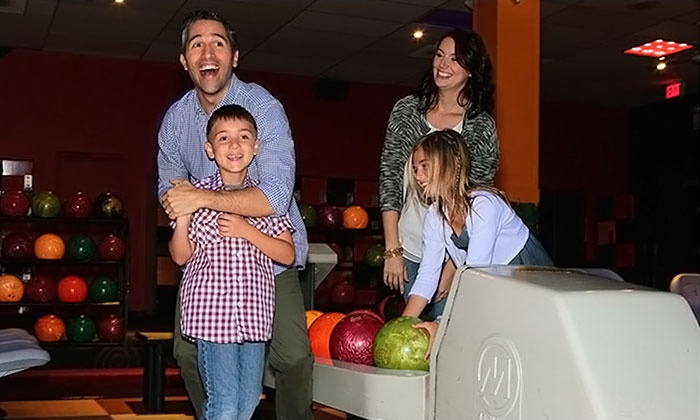 AMF Bowling Co. - AMF Strathmore Lanes: Two Hours of Bowling and Shoe Rental for Two, Four, or Six at AMF Bowling Co. (Up to 61% Off)