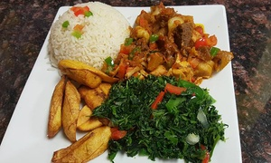 Mamaput African Cuisine: African Cuisine for Two or Four at Mamaput African Cuisine (40% Off)