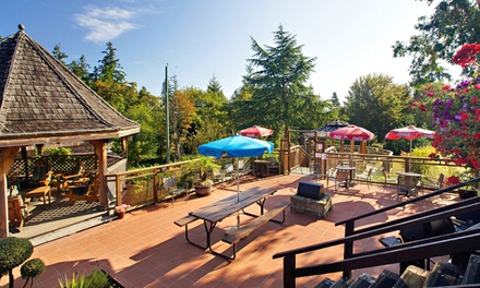 Groupon Deal: 2-Night Stay in Standard Sea-View Room or Deluxe Room at Seabreeze Inne in Salt Spring Island, BC (Up to 50% Off)