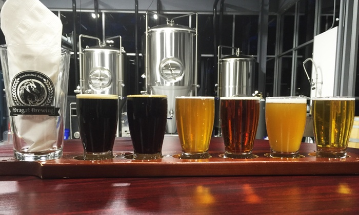 Dragas Brewery - Rocklin: Brewery Tour with Tastings and Pint Glasses for Two or Four at Dragas Brewery (Up to 50% Off)
