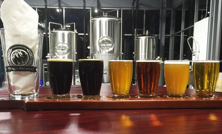 Brewery Tour with Tastings and Pint Glasses for Two or Four at Dragas Brewery (Up to 50% Off)