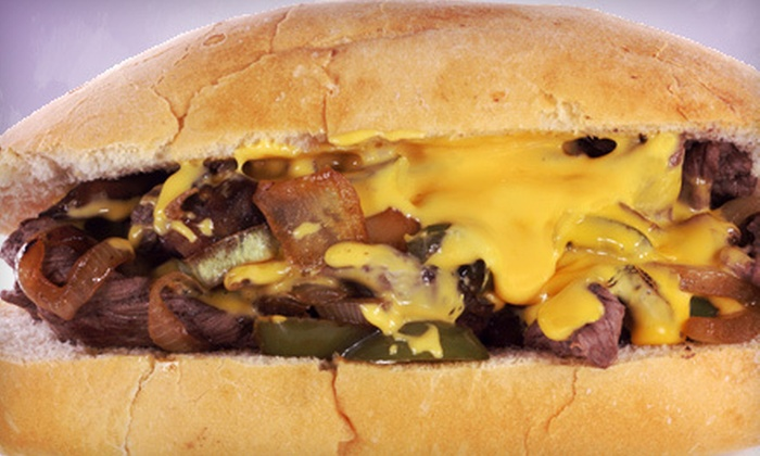 Back East Cheesesteaks - Baker,Coventry At Fairmeadows: Philly-Cheesesteak Meal for Two or $10 for $20 Worth of Sandwiches at Back East Cheesesteaks in Midvale