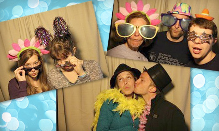 Photoriffic Memories - Cleveland: Three- or Four-Hour Photo-Booth Rental from Photoriffic Memories (Up to 60% Off)