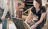Sharri's Discount Art - Normal Station Neighborhood Association: Three-Hour BYOB Painting Class for 1, 2, 6, or 12 at Sharri's Discount Art Supplies (Up to 63% Off)