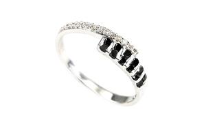 0.30ct Diamond Crossover Rings