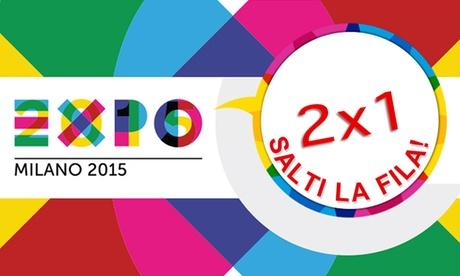 Expo 2015 - 2 biglietti al prezzo di 1a data aperta, salta la fila più Mobile App K2Milan