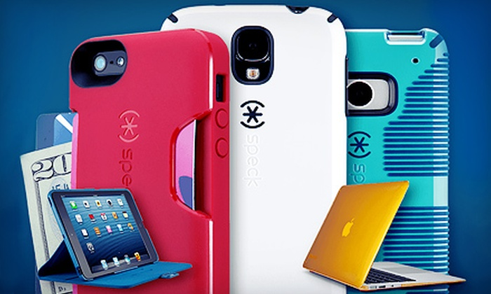 Speck: $25 for $50 Worth of Smartphone, Laptop, and Tablet Accessories from Speck Products. Free Shipping.
