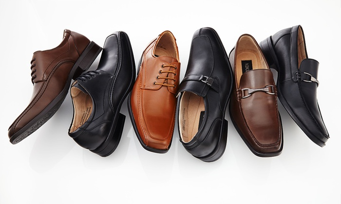 Adolfo Men's Dress Shoes: $39.99 for One Pair of Adolfo Men's Dress Shoes ($135 List Price). Three Styles Available. Free Shipping and Returns.