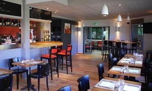 Restaurant L'Aparté: 2 menus du jour ou 2 à 4 menus du soir comprenant entrée, plat et dessert au choix dès 19,90 € au Restaurant L'Aparté