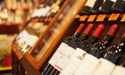 Up to 38% Beer or Wine at Holiday Wine Cellar. Three Options Available.