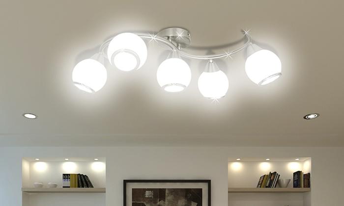 Lampade da soffitto in vetro groupon