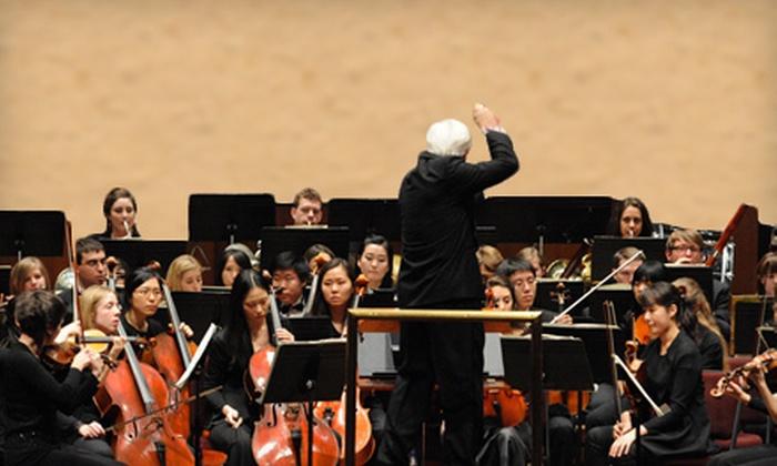 "BU Symphony Orchestra & Symphonic Chorus Present ""Carmina Burana"" - Fenway - Kenmore - Audubon Circle - Longwood: Boston University Symphony Orchestra Presents ""Carmina Burana"" for Two at Symphony Hall on November 19 ($50 Value)"