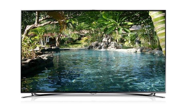 "Samsung 60"" 1080p 3D 240Hz LED Smart HDTVs: $2,499.99 for a Samsung 60"" 1080p 3D 240Hz LED Smart HDTV ($3,199.99 List Price). Free Shipping."