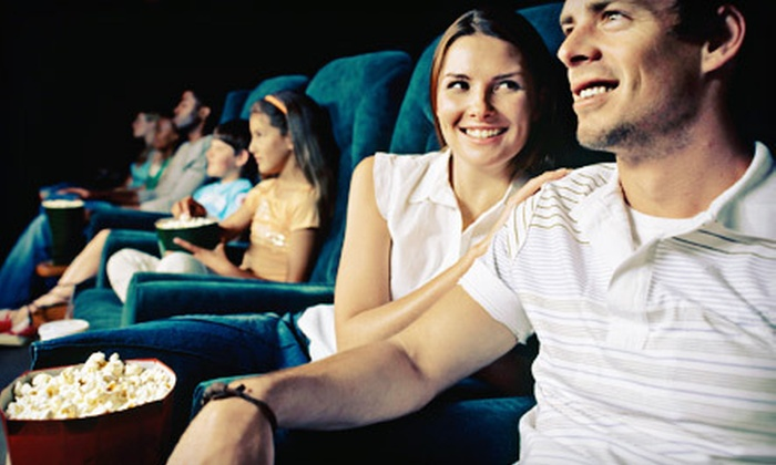 The Screen - Santa Fe: $12 for Movie and Popcorn for Two at The Screen in Santa Fe (Up to $24 Value)