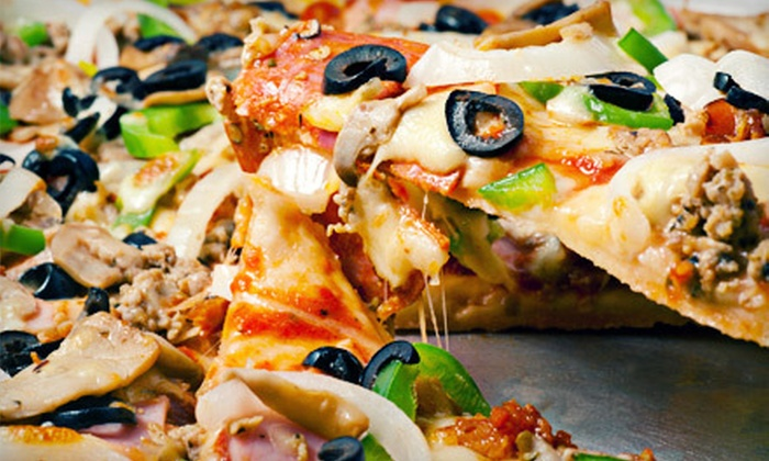 Palio's Pizza Cafe - Little Rock: Gourmet Pizza Meal with Sides and Drinks for Two or Four at Palio's Pizza Cafe (Up to 57% Off)