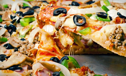 Gourmet Pizza Meal for 2 Include: 1 Medium Pizza, 1 Side and 2 Nonalcoholic Drinks  - Palios Pizza Cafe in Little Rock