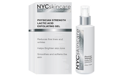 NYCskincare Physician Strength Lactic Acid Exfoliating Gel; 4 Fl. Oz.