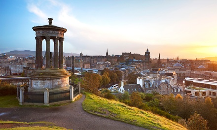 ✈ Edinburgh: 2 or 3 Nights with Return Flights and Option for a Edinburgh Castle Tour*