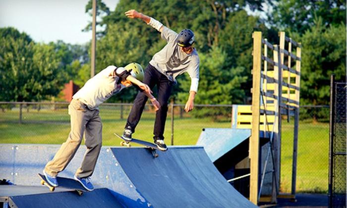 Columbia SkatePark - Columbia SportsPark: 5 or 10 Skate-Park Visits at Columbia SkatePark (Up to 52% Off)