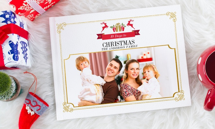 Photobook Canada: 40-Page Custom Hardcover Photo Book from Photobook Canada (Up to 89% Off). Seven Options Available.