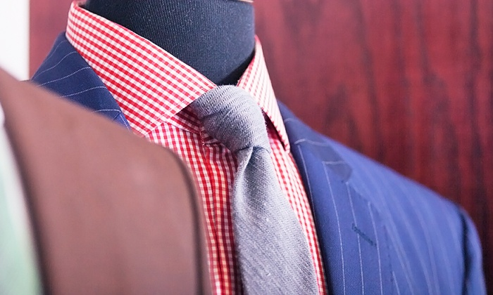 The Tailored Man - Alexandria: $25 for $50 Worth of Alterations at The Tailored Man