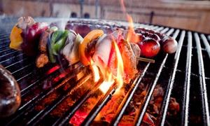 Byczy Grill: 2-daniowy obiad dla dwojga (od 29,99 zł) lub 4 osób (69,99 zł) w restauracji Byczy Grill (do-44%)