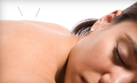 One Acupuncture Session and Option for Massage, or Two Acupuncture Sessions at Hidden Rhythm Acupuncture (Up to 81% Off)