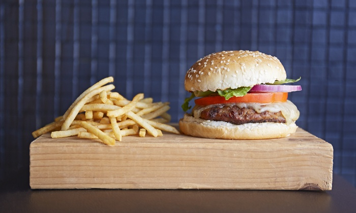 Checkers - Westchester Village: Burgers, Fries, and Shakes Meal for Two or American Fare at Checkers (Up to 50% Off)