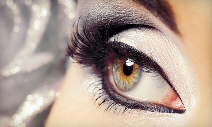 April's Aesthetics - Capitol Hill: Eyelash Extensions from April's Esthetics at The Cutting Edge Salon (Up to 75% Off). Three Options Available.